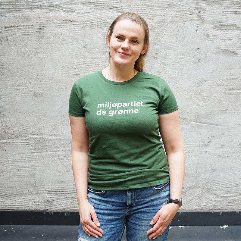T skjorte Grønt Kvinnenettverk